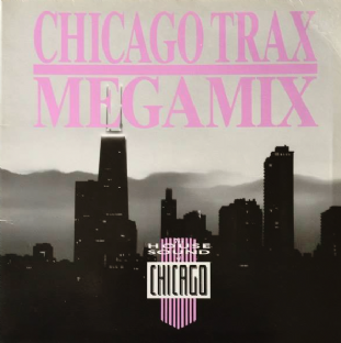 V/A - The House Sound Of Chicago: Chicago Trax Megamix (LP) (VG/G-VG)